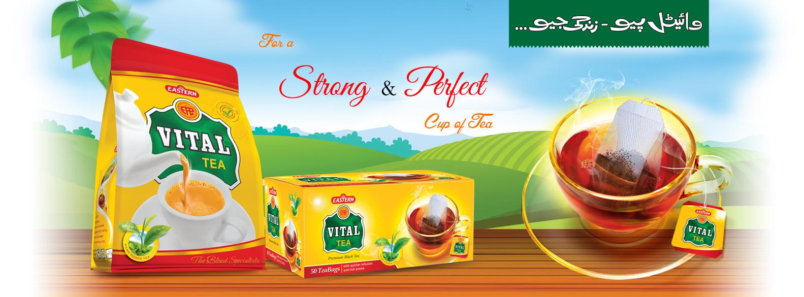 market share of tea brands in pakistan